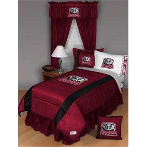 alabama comforter set alabama crimson tide comforter and curtains set lovetoknow
