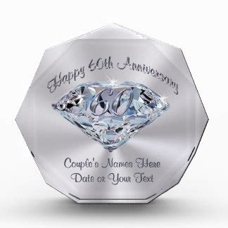 wedding anniversary gifts years 60th anniversary gifts on zazzle