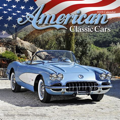 american classic cars calendars ukposterseuroposters