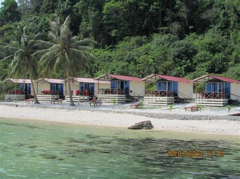 Freedom Island Bungalows On Koh Rong Samloem Island In