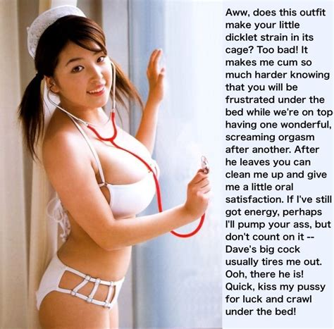 Cha1 Porn Pic From Chastity Captions For Cute Asian
