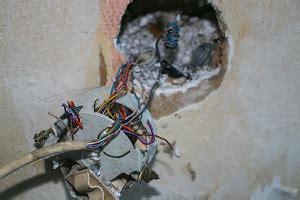 asbestos electrical insulation danger   walls