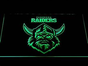 Canberra Raiders LED Neon Sign