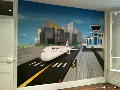 chambre garcon avion décoration chambre avion