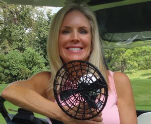 pgf personal golf fan your personal golf fan with cynthia wark winner of the