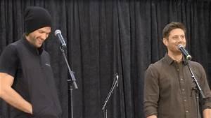 JaxCon Jared Padalecki and Jensen Ackles FULL Gold 2017 ...