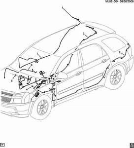 2007 Chevrolet Equinox Wiring Harness  Instrument Panel