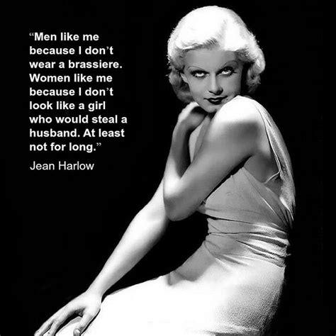 Movie Actor Quote Jean Harlow Film Actor Quote Jeanharlow Jean Harlow Actor Quotes