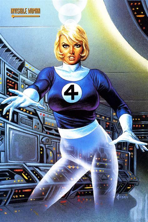 Invisible Woman by Joe Jusko   Top superheroes, Marvel ...