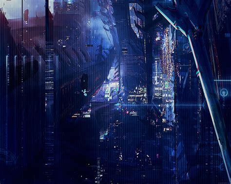 af digital world anime art illust urban papersco