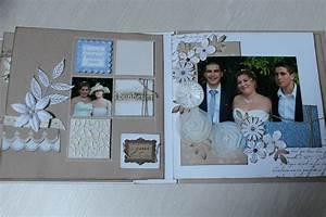 Acheter Album Photo : modele album mariage scrapbooking ~ Teatrodelosmanantiales.com Idées de Décoration