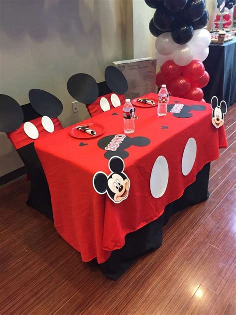 Mickey Mouse Decorations For Baby Shower - mickey mouse baby shower ideas photo 1 of 9