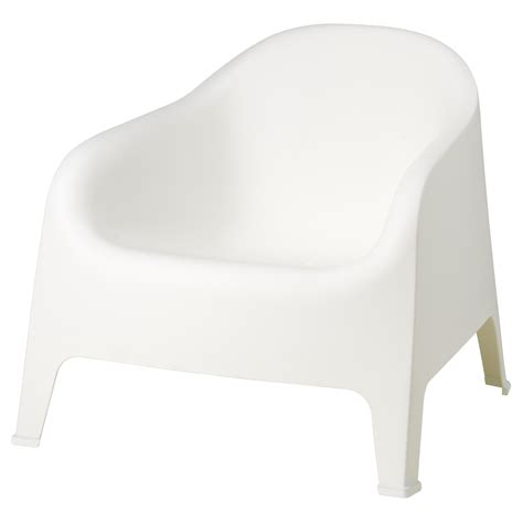 skarp 214 armchair outdoor white ikea