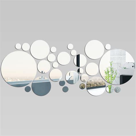 stickers miroir cuisine miroir plexiglass acrylique ronds minimaxi 1 pas cher