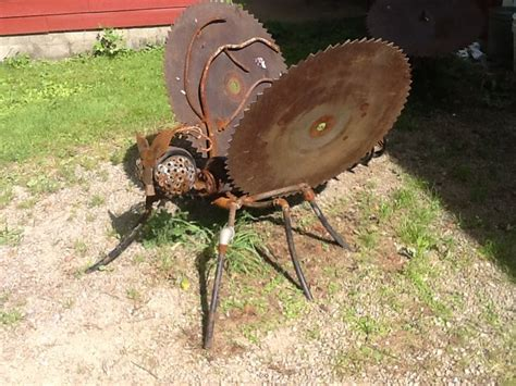 + Images About Metal Yard Art On Pinterest