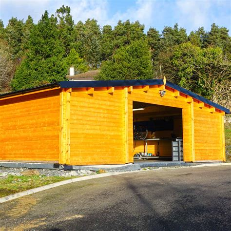 log cabin garage garage log cabin loghouse ie