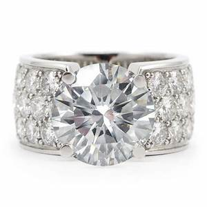 best wide band diamond wedding and engagement rings With wide diamond wedding rings