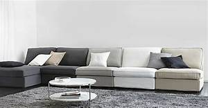 Ikea Canapé Tissu : serie canapes tissu kivik ikea deco salon pinterest canap s canap modulaire et modulaire ~ Teatrodelosmanantiales.com Idées de Décoration