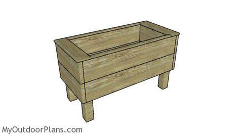 extra deep planter box  diy plans myoutdoorplans