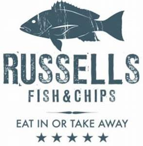 russell's fish and chip shop logo - Picture of Broadway ...