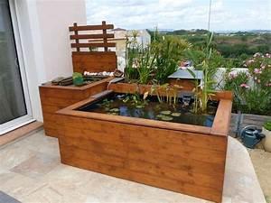 nouveau bassin hors sol de patrice b thomas pinterest With ordinary fontaine exterieure de jardin moderne 3 mon jardin aquatique