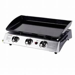 Plancha à Gaz : cooking box plancha gaz bahia 3 feux poser acier ~ Dode.kayakingforconservation.com Idées de Décoration