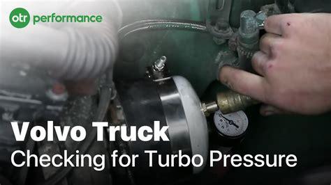 volvo truck boost leak test     otr