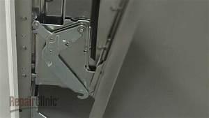 Whirlpool Dishwasher Left Door Hinge Replacement