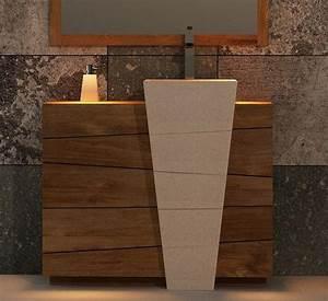 Meuble Vasque Bois Salle De Bain : achat meuble de salle de bain rhodes walk meuble en ~ Teatrodelosmanantiales.com Idées de Décoration