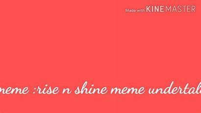 Undertale Shine Error Ink Meme Rise