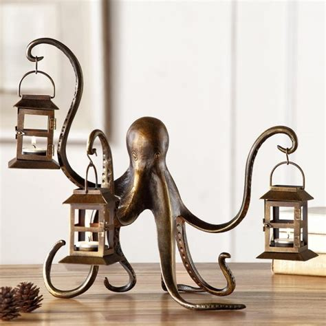octopus candle holder 50 interesting and octopus home decor finds