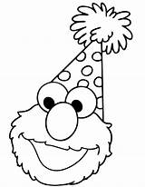 Elmo Coloring Pages Print sketch template