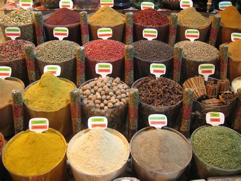cuisine spicy list of culinary herbs and spices