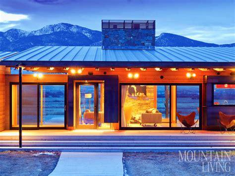 prefab montana home   cutting edge