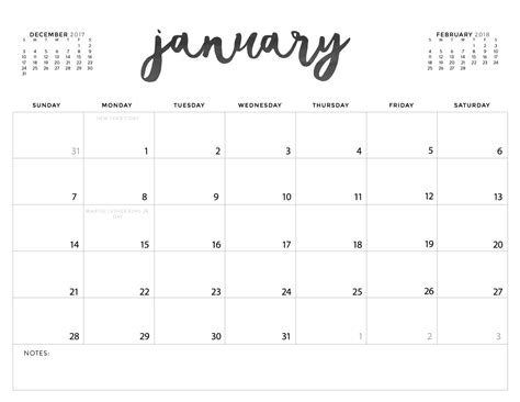 printable calendars today