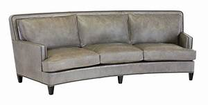 Classic Leather Palermo 1123939 Curved Sofa CL8553