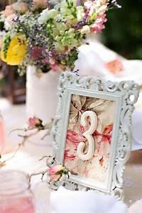 Wedding Wednesday: Vintage Table Number DIY