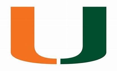 Miami University Hurricanes Florida Football Logos Nard