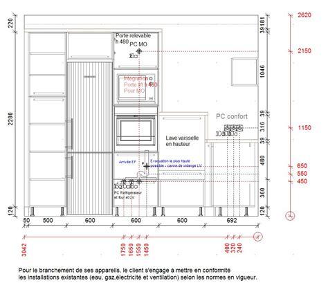 forum cuisiniste lave vaisselle en hauteur 40 cm et évacuation