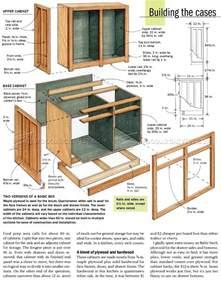 kitchen furniture plans kitchen cabinets plans woodarchivist