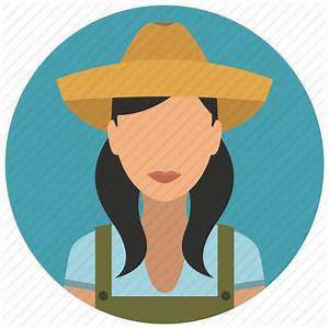 Avatar, farmer, hat, services, woman icon   Icon search engine