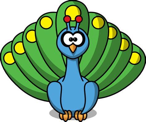 Cartoon Peacock Clip Art Free Vector 4vector