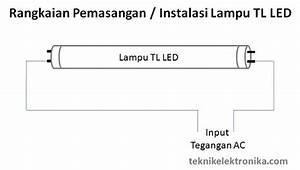 Rangkaian Lampu Tl Fluorescent Dan Lampu Tl Led
