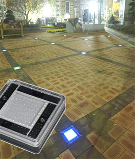 driveway paving solar led light gardener