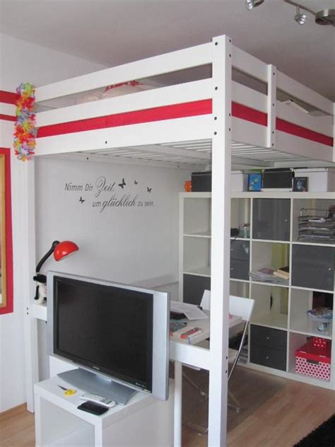 Ikea Hochbett Weiß ikea hochbett stora weiss in m 252 nchen ikea m 246 bel kaufen