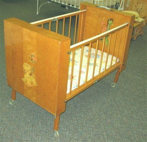 vintage baby cribs 1000 images about 1950s baby cribs on baby