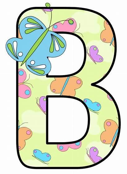 Alphabet Letters Letter Clip Clipart Mariposas Butterflies