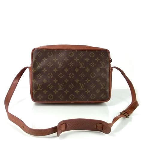 louis vuitton french company monogram shoulder bag