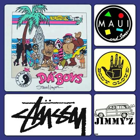 Surf Brand Clothing  Chiiiiild! (of The 80's And 90's
