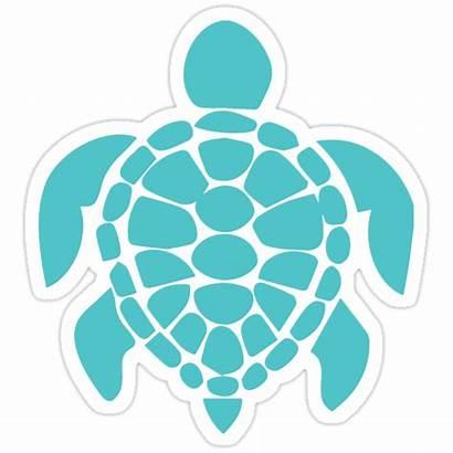 Turtle Teal Sticker Sea Cricut Stencil Stencils